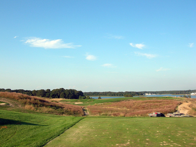 The 4th Hole at National Golf Links